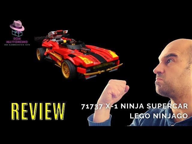 Was kann die Neuauflage des X-1 Ninja Supercar Lego? Ninjago Set 71737 im Review