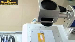 How Does China Fiber Laser Engraver Marking Machine Work?