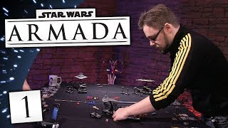 STAR WARS ARMADA #1 | The Space Boat King Returns!