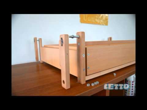 Кроватка «Малютка с маятником