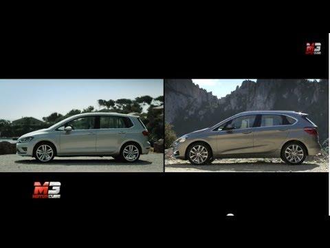 2014 Volkswagen Golf Sportsvan Vs Bmw Active Tourer Mpv Attacks