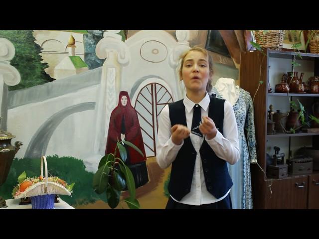 Изображение предпросмотра прочтения – ПолинаСахацкая читает произведение «Ворона и Лисица» И.А.Крылова
