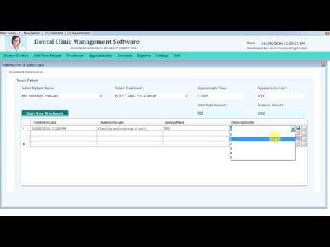 Dental Clinic Management Software Free Trail