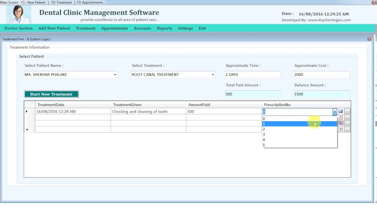 Management software for Dental Practice and ... - Orisline