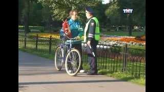 Атака клоунов  День велосипедиста-огнетушителя