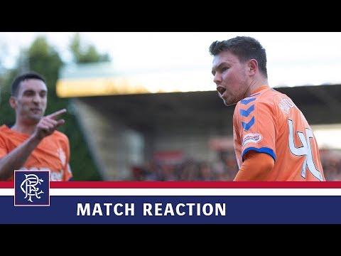 REACTION | Glenn Middleton | St Johnstone 1-2 Rangers