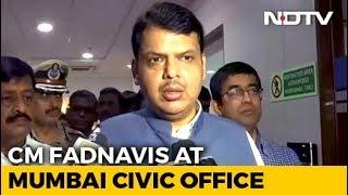 Mumbai Stay Indoors Says Chief Minister Amid Rain Red Alert