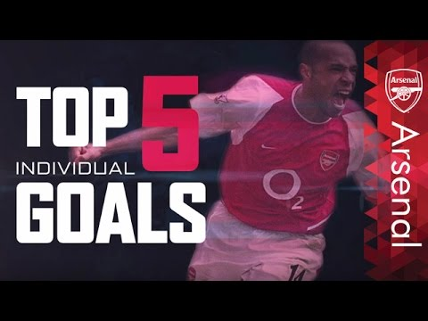 Arsenal - Top five solo goals