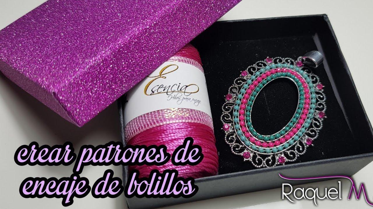 Como crear patrones para Joyas de encaje de Bolillos - Raquel M ...