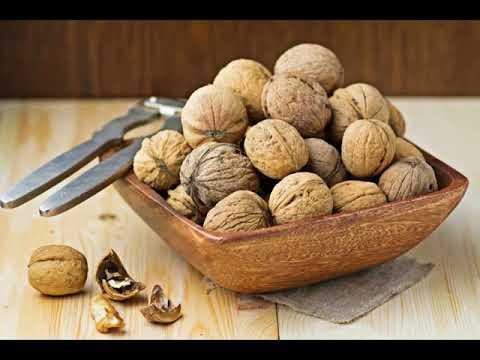 Оздоровление перегородками грецких орехов .