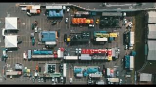 Vista aérea - Parque de Apoio - Rally Cuesta Off-Road 2017