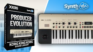 Producer Evolution for Korg Kingkorg - Synthcloud Library
