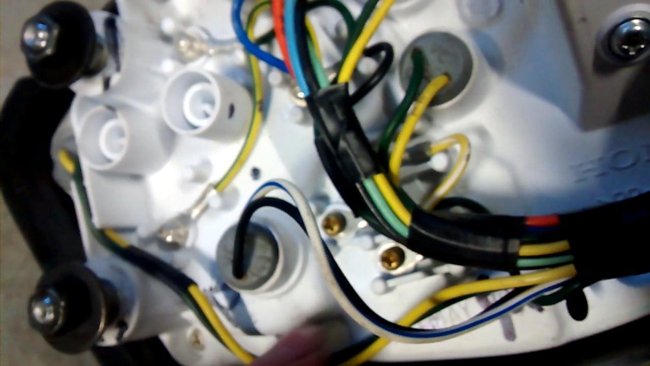 how to upgrade your 2009 honda cbf 125 with original tachometer rev gauge [ 1280 x 720 Pixel ]