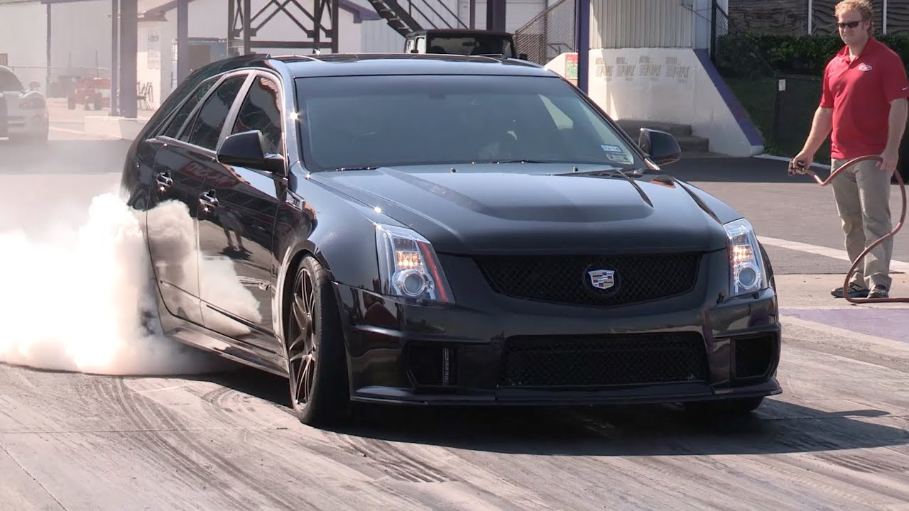 Sweet 10 Second Cts V Wagon Youtube