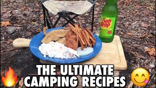 The Ultimate Camping Recipes | Bankhead National Forest | FOOD PORN WARNING