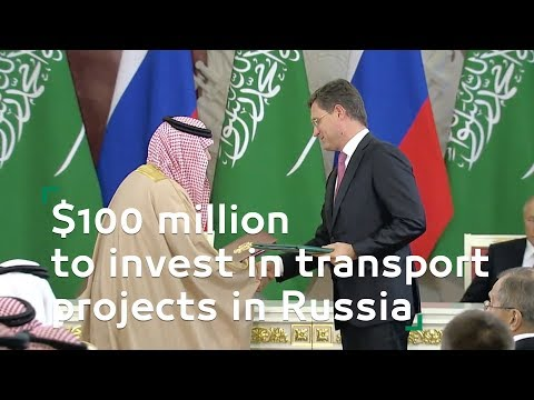 $100 million to invest in transport projects in Russia