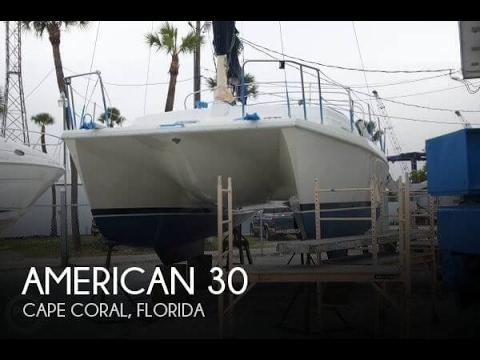 [SOLD] Used 1992 American 30 In Cape Coral, Florida