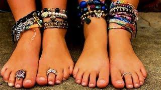 видео На какой ноге носят браслет?