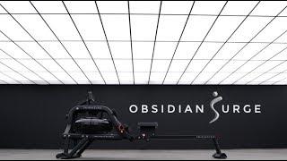 Sunny Health & Fitness SF-RW5713 Obsidian Surge 500 Water Rowing Machine