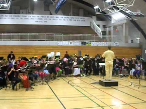 Anacortes Middle School Band - Flight of the Vampire