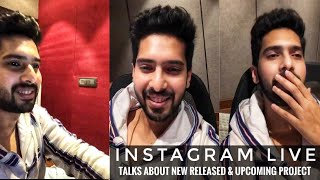 Armaan Malik Instagram Live Talks About New Released & Upcoming Project SLV2019
