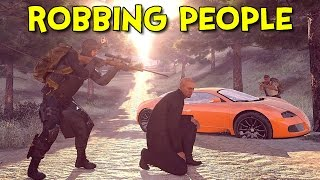ROBBING PEOPLE! - Arma 3: Life - Ep.3