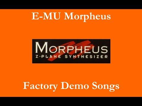 E-MU Morpheus - Démos internes - Factory Demo Songs