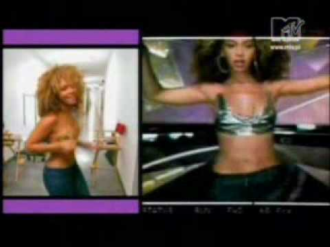 Beyonce making the video Work it out part 2