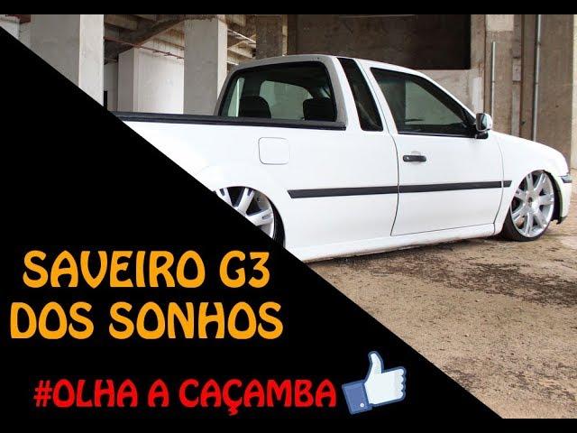 SAVEIRO G3 RODA TOUAREG 18 COM SUSPENSÃO A AR 10mm - DEIVINHO CILINDRADA