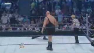 The Undertaker vs Big Show 24 04 09 Part 2