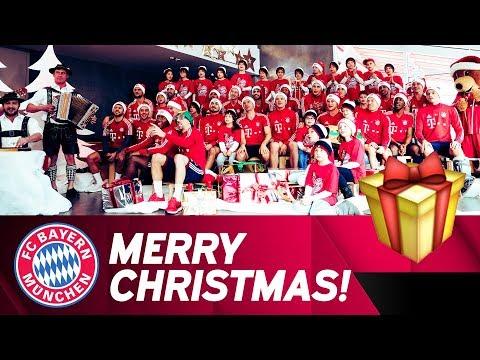 FC Bayern Christmas Song 2017 🎅 🎄 🎁