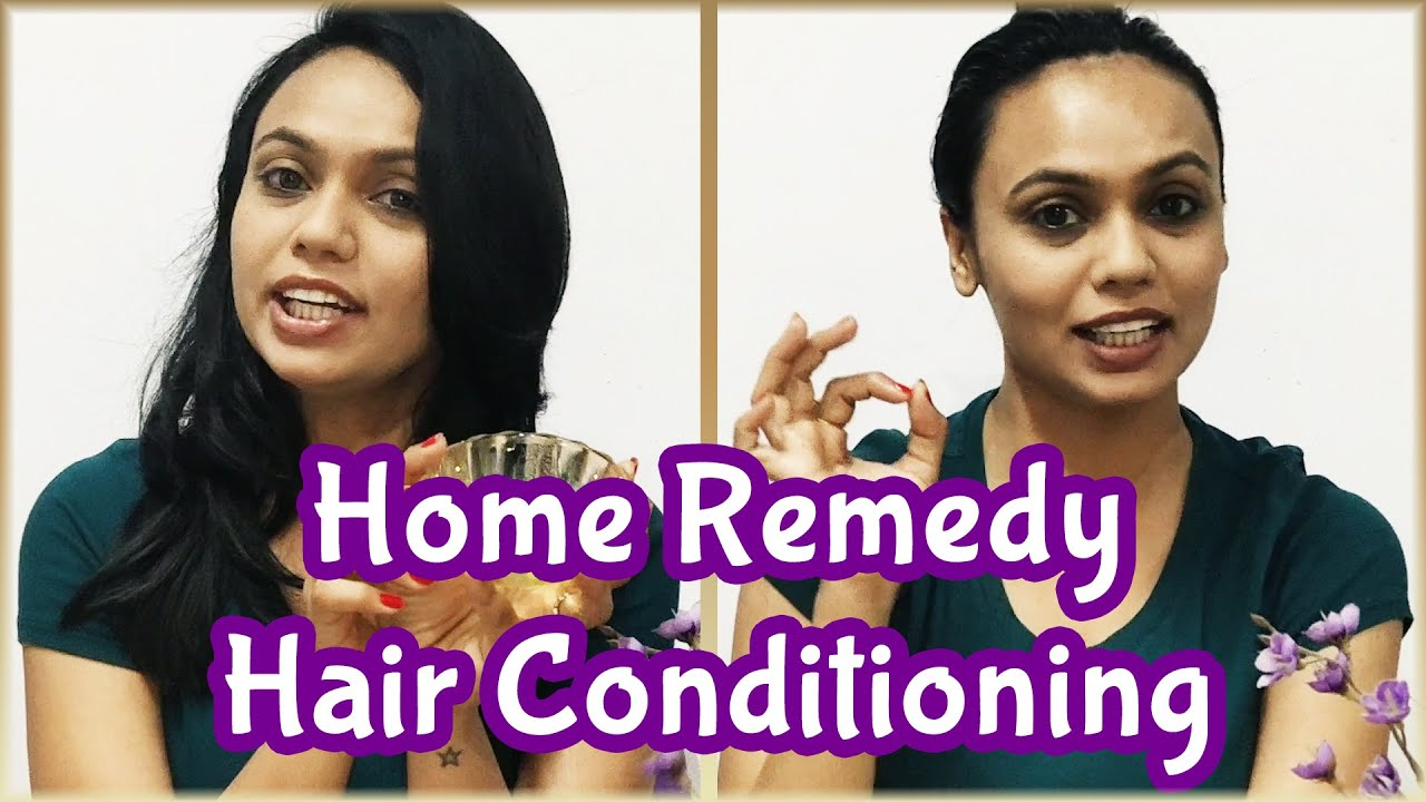 Hair Conditioning At Home In Hindi Simple Home Remedies Beauty Tips Pebbles Hindi Youtube