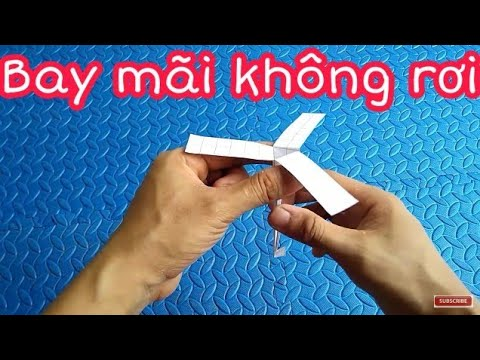 Flying Paper Helicopter