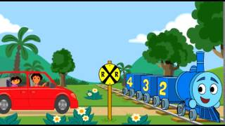 Dora's Ride Along City Adventure New Games 2014