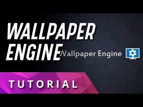 Tutorial Wallpaper Engine En Español Youtube