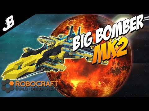 Air Superiority Big Bomber Mk.2 Flying Bot - Robocraft Gameplay