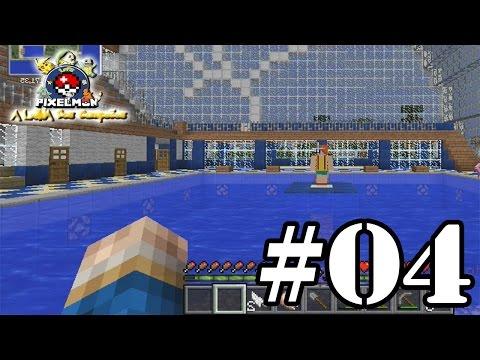 Minecraft Pixelmon: Lenda dos Campeões #04 - Desafio da Cascata