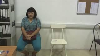 фрагмент собеседования с домработницей - Ажара с опытом работы 3года / РИТМ ГОРОД
