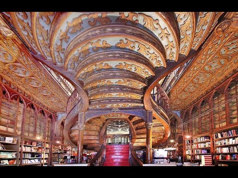 Livraria Lello Bookstore | Porto Portugal