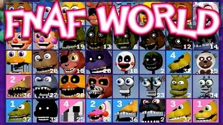 FNAF World : All Characters, Chips & Bytes! [Ep. 7]