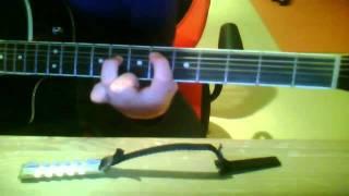 Wie spiele ich Taio Cruz feat. FloRida- Hangover? (Gitarre) [2 Möglichkeiten!!]