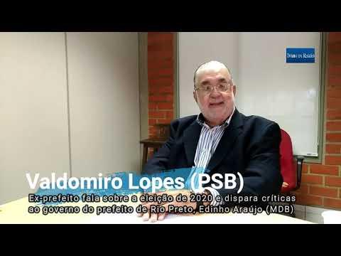 VALDOMIRO DISPARA CRÍTICA A EDINHO - Ex-prefeito Adota Discurso De Pré-candidato Na Eleição De 2020