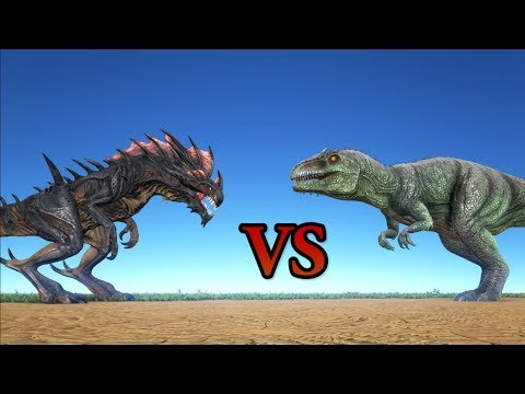 Reaper Queen vs Giganotosaurus || ARK Aberration || Cantex