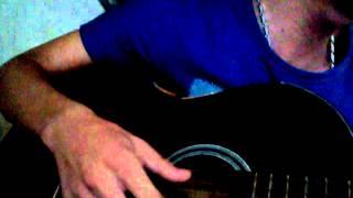 riêng mình anh cô đơn guitar