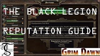 Grim Dawn - The Black Legion Reputation Guide