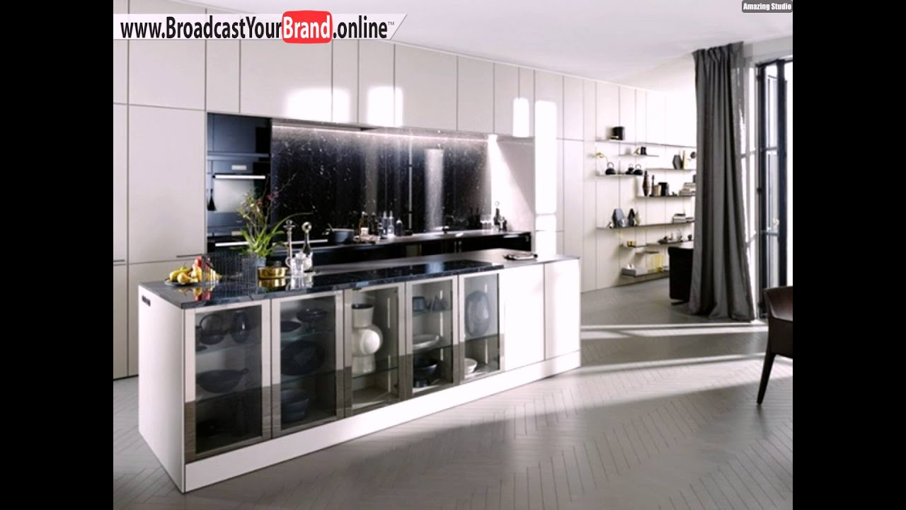 Siematic küche design idee weißer schrank kochinsel   youtube