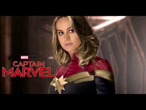 Captain Marvel(2019)-BRIE LARSON Teaser Trailer(leaked shorts) Fan Made