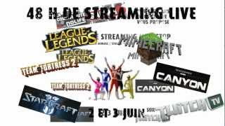 [ANNONCE] Les 48h de streaming chez Nolife-Gaming