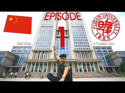 First Day at Fudan University, SHANGHAI: Study A-Vlog Episode 1