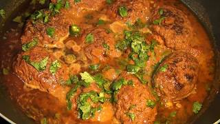 NARGISI KOFTA RECIPE / NARGISI KOFTA RECIPE PAKISTANI / NARGISI KOFTA  CURRY RECIPE